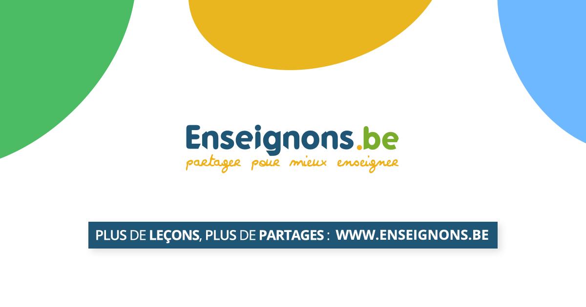 Pr 233 Parations Pour Professeurs Et Instituteurs En Wallonie
