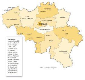 Carte Belgique Jeux.Les Provinces Et Chefs Lieux De Belgique Jeu De Plateau